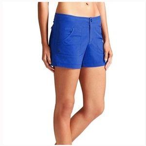 Athleta Royal Cobalt Blue Quick Dry Workout Shorts
